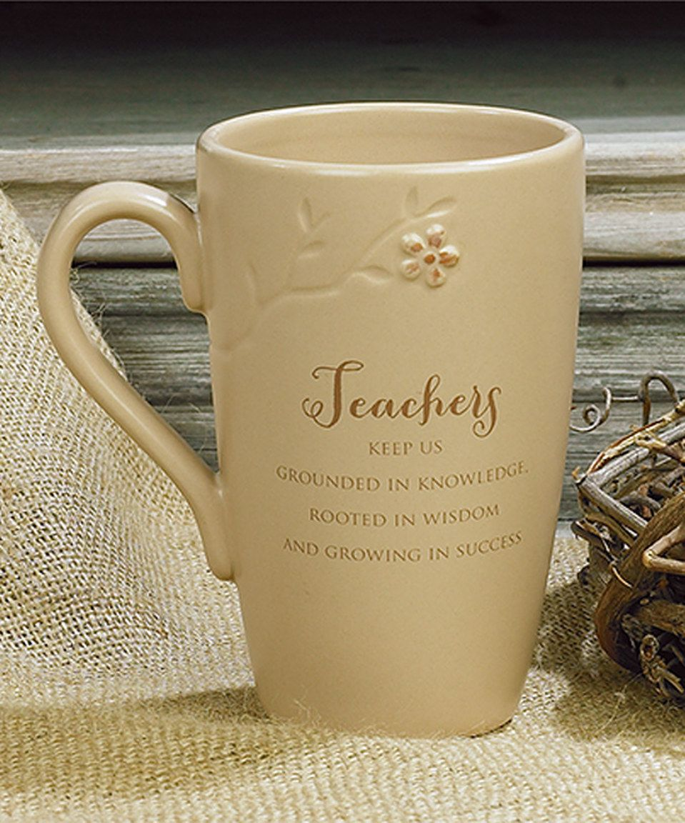 This Teacher Blessing Branches Mug by Abbey Press is perfect