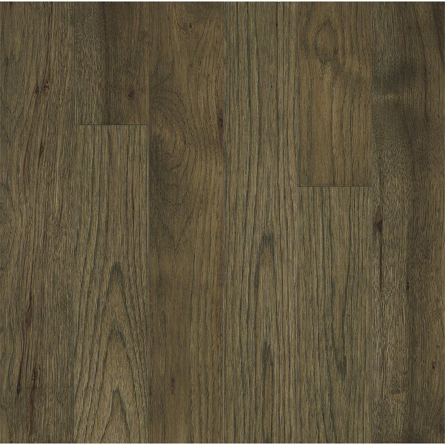 Bruce America S Best Choice 3 25 In Prefinished Hickory Evening Shadow Solid Hardwood Flooring