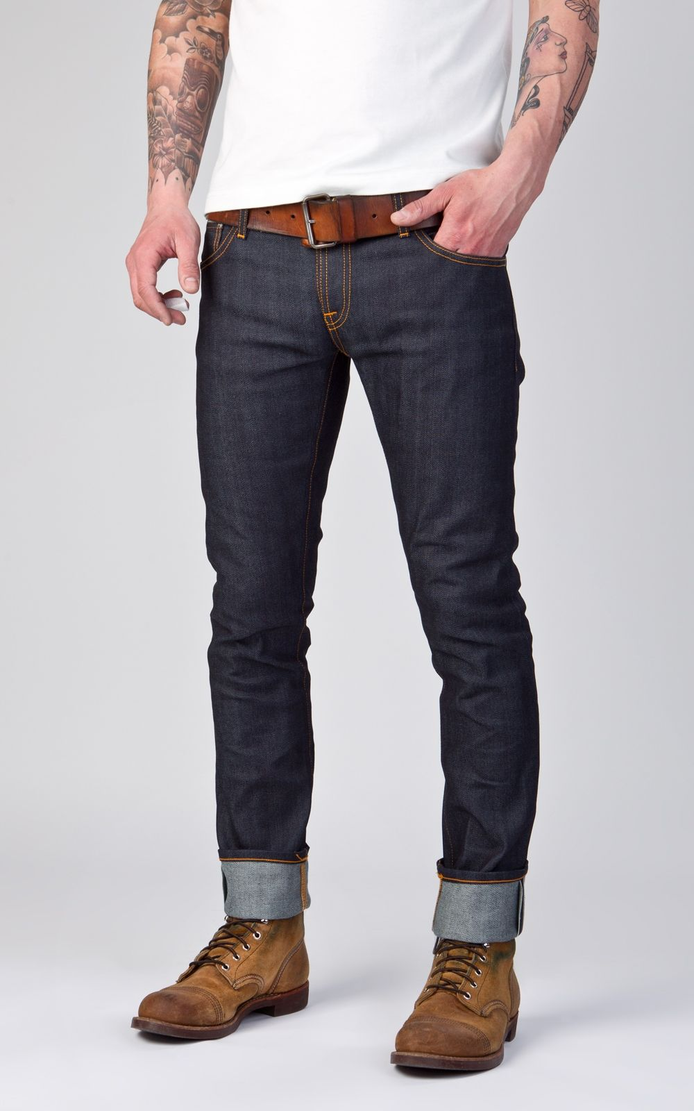 Nudie Jeans at Cultizm - The Denim Online Store  Nudie is a Swedish denim  brand that started in 2001.They love jeans 155516f48b0