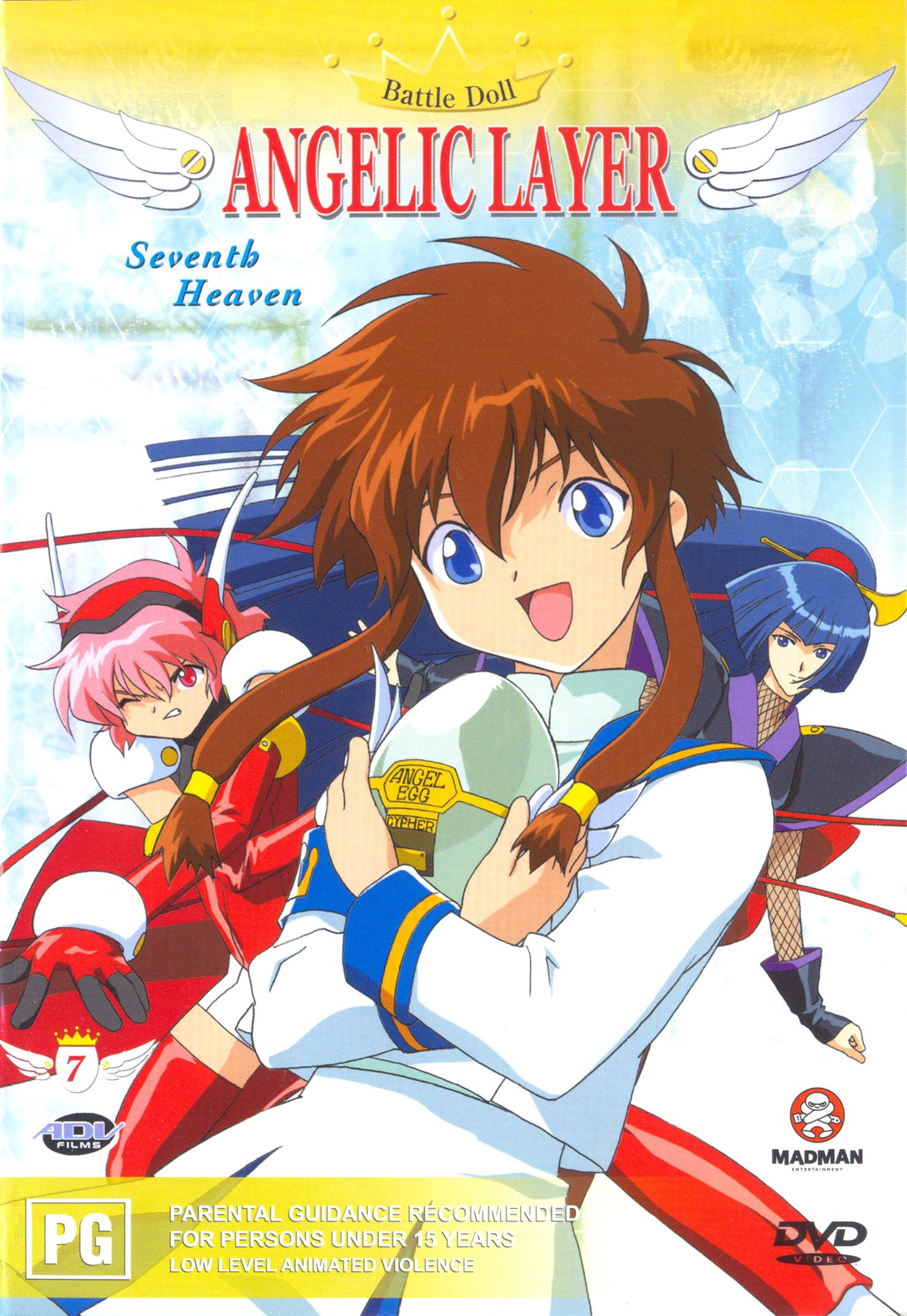 Angelic Layer Anime release