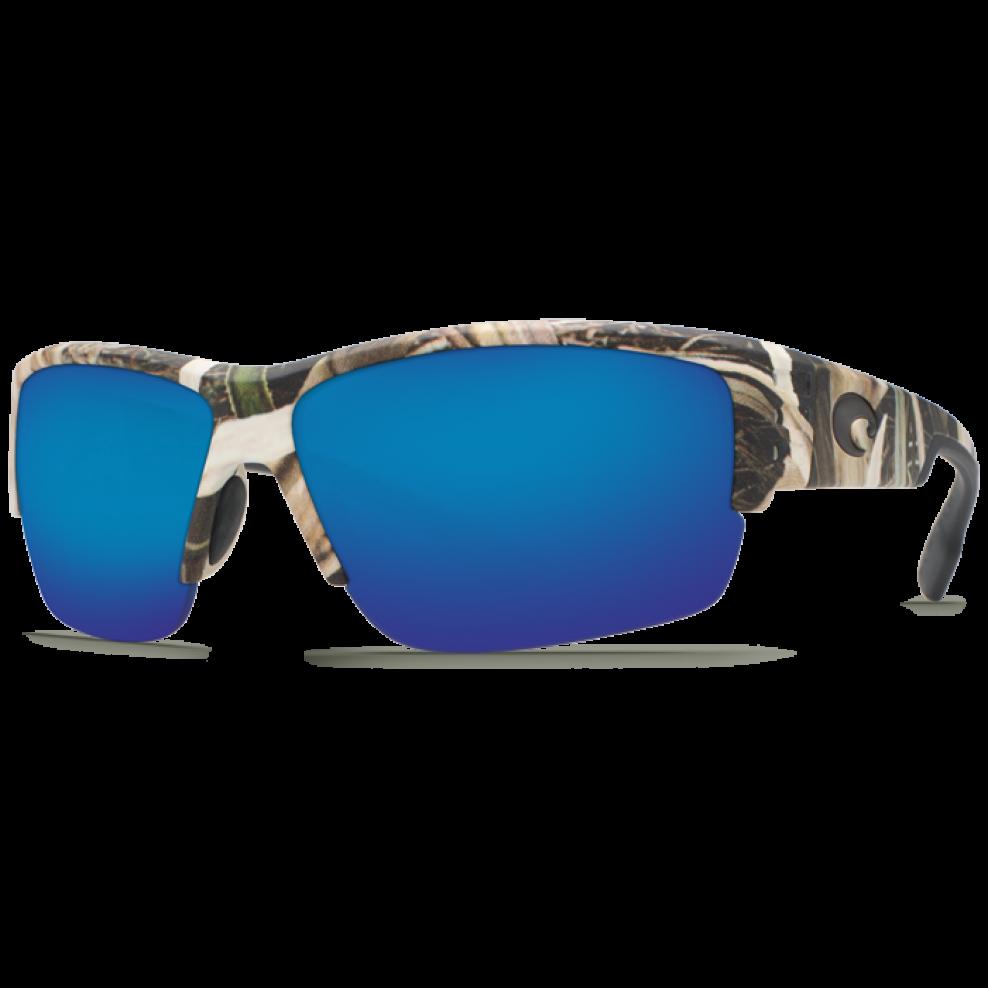 Costa Del Mar Hatch Polarized Sunglasses Mossy Oak Camo//Blue Mirror 580P Lens