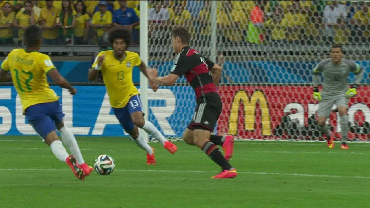 Brasil 1 x 7 Alemanha pela Semifinal da Copa do Mundo 2014