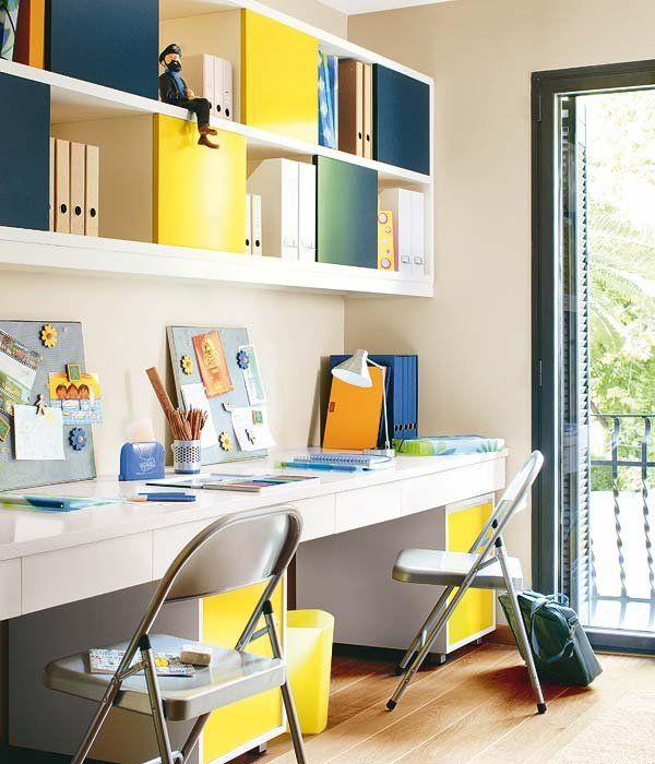 Zonas de estudio estudios escritorios y oficinas for Muebles de estudio modernos