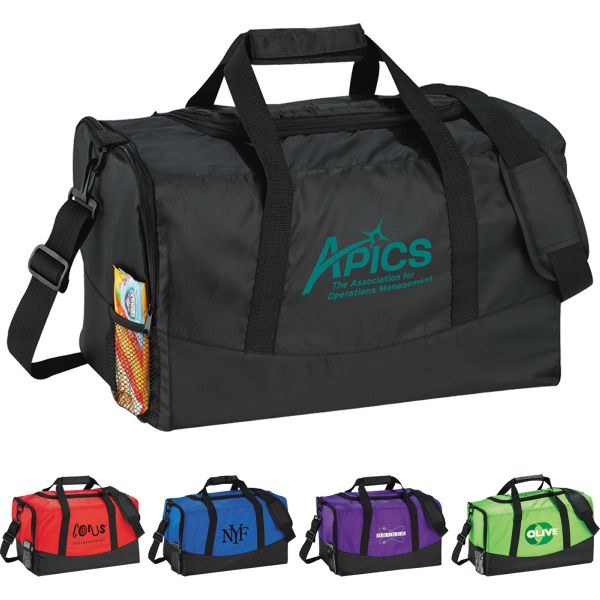 Zippered side pocket and mesh pocket. Double carrying handles with Velcro  wrap and removable 19c135698963b