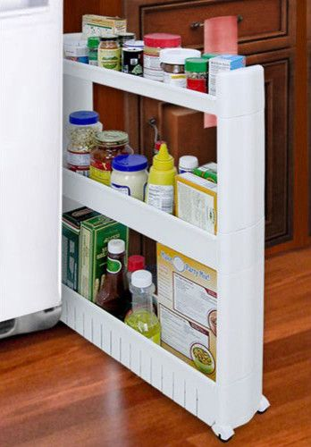 Products Narrow Pull Out Pantry Storage