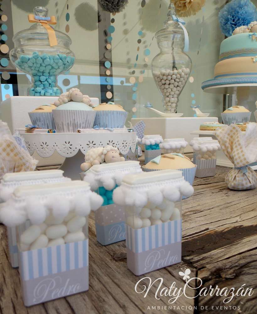 Little Lamb Baby Shower Baby Shower Party Ideas