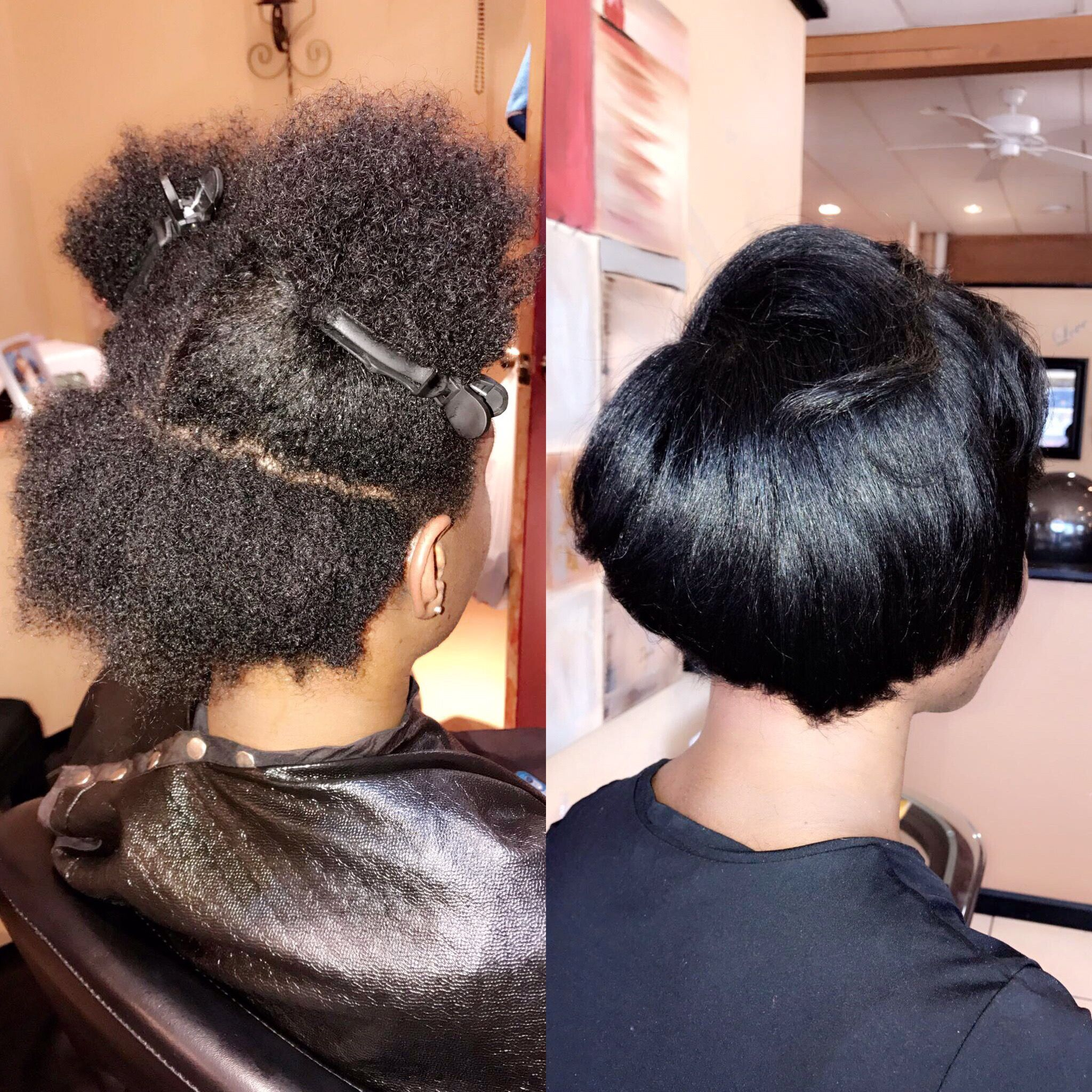Short Natural Hair Blowout Trim Stylist Markeishaeshell Toledo Ohio Natural Hair Blowout Short Hair Blowout Blowout Hair