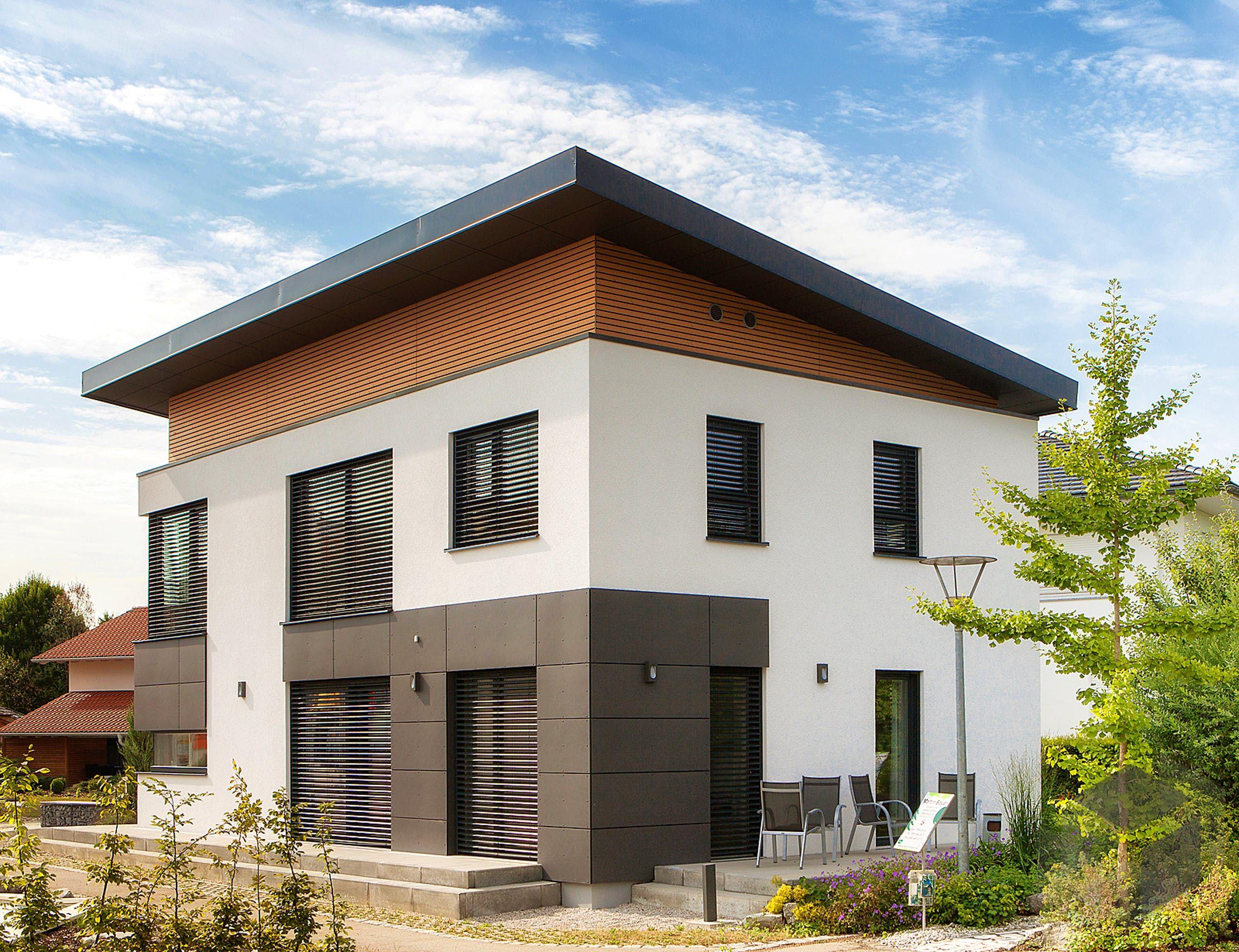 Pultdachhaus 'Musterhaus Poing' von Wolf System Alle