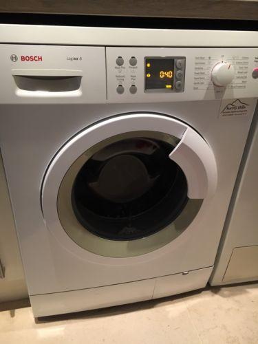 Bosch Logixx 8 WAS32466GB Washing Machine (White) https://t.co/sQ7yYgEKS7 https://t.co/AmkJPjBRHR