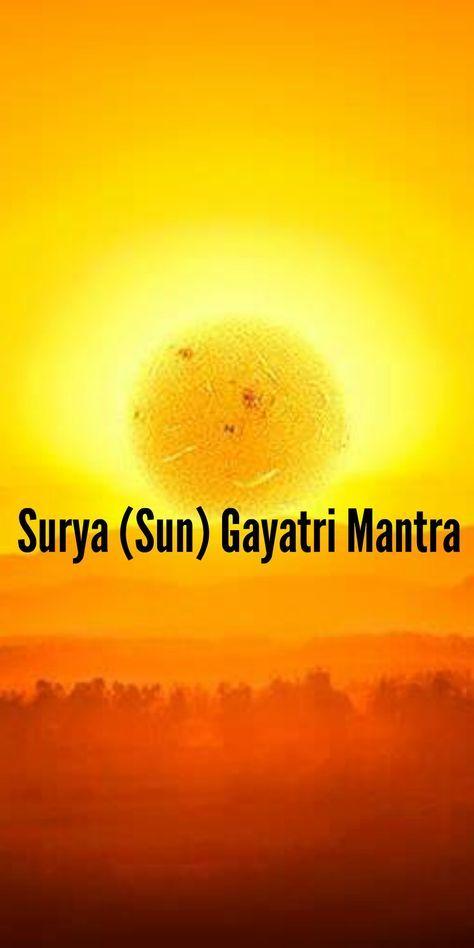 SURYA GAYATRI MANTRA PDF DOWNLOAD