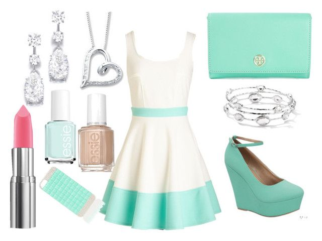 """Time to Dance"" by catdancestar ❤ liked on Polyvore featuring Tory Burch, Ippolita, Essie and Forever New"