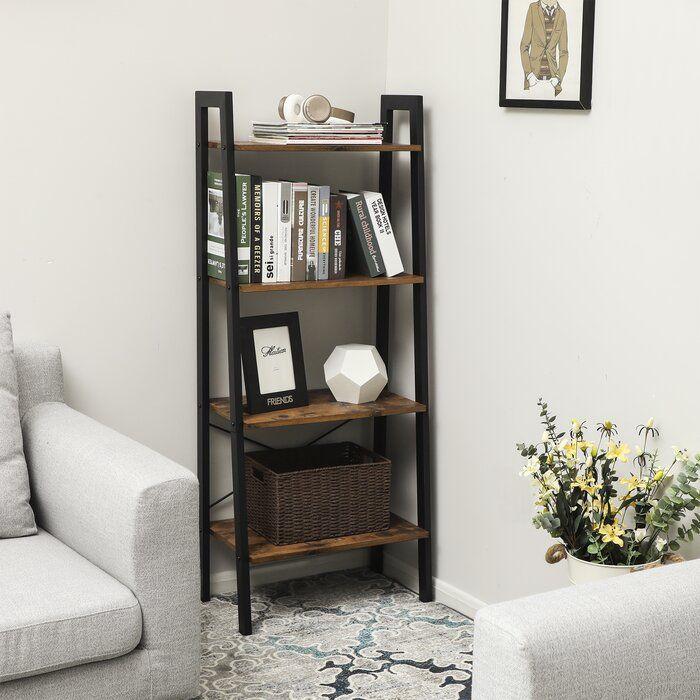 Photo of Parikh 4-Tier Ladder Bookcase