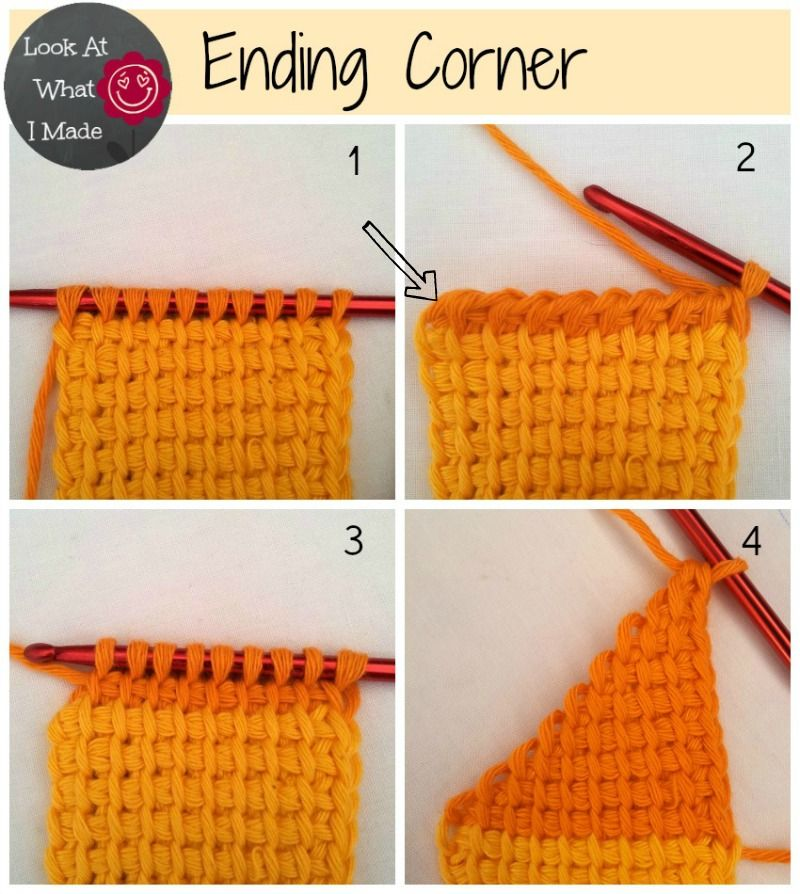 Tunisian Crochet Ten Stitch Blanket Pattern | Crochet | Pinterest ...