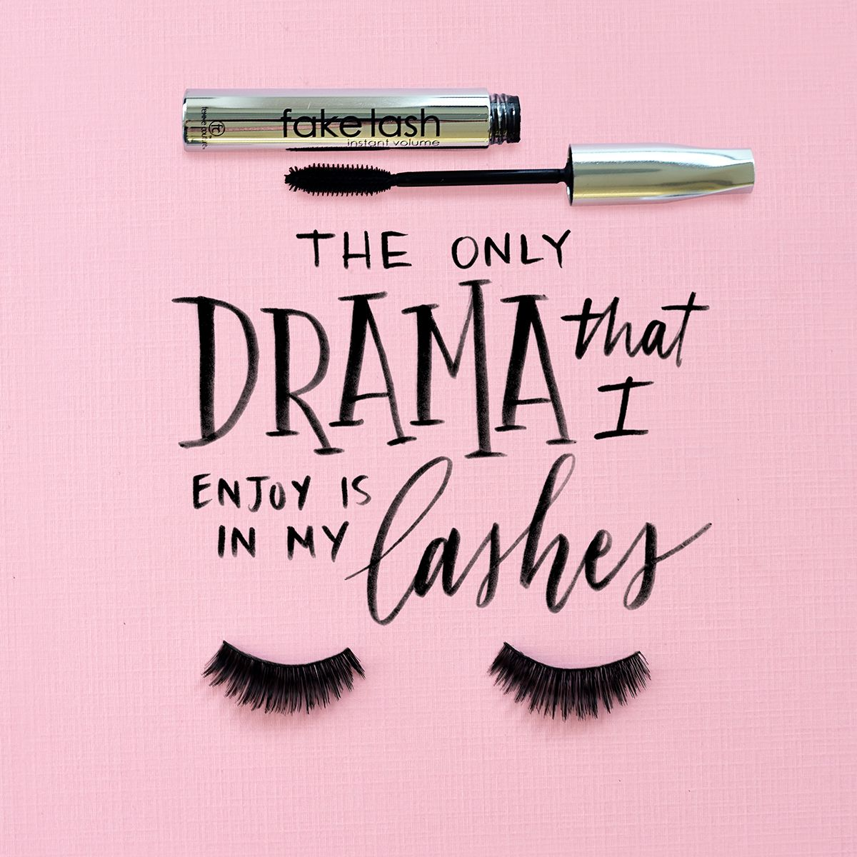 Iphone wallpaper tumblr makeup - Save The Drama For Your Lashes