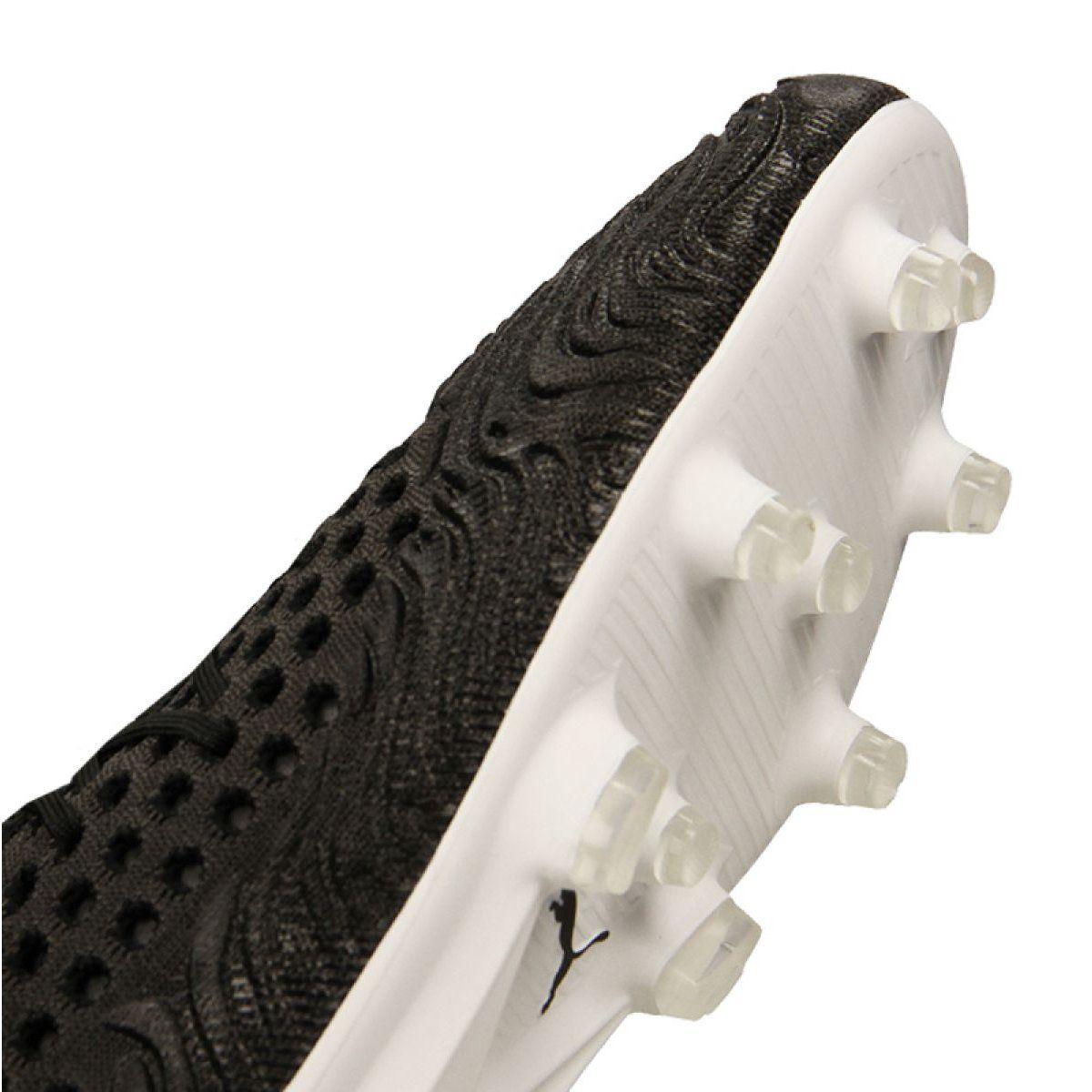 Korki Pilka Nozna Sport Puma Buty Pilkarskie Puma Future 19 1 Netfit Fg Ag M 105531 02 Black Boots Football Boots Puma