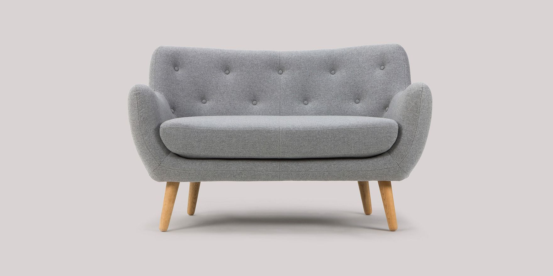 2 seater sofa Herman for small living