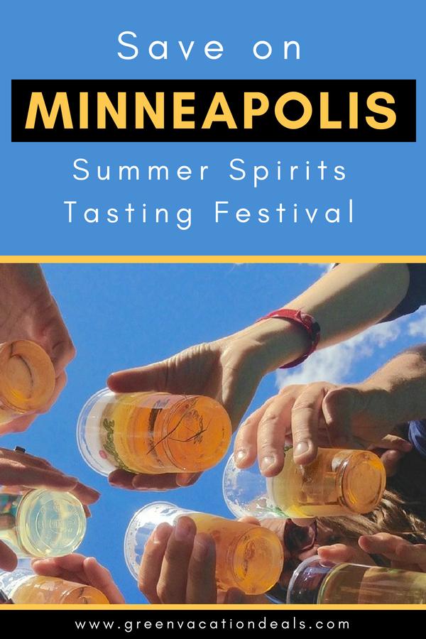 Save on 2018 Minneapolis Summer Spirits Tasting Festival