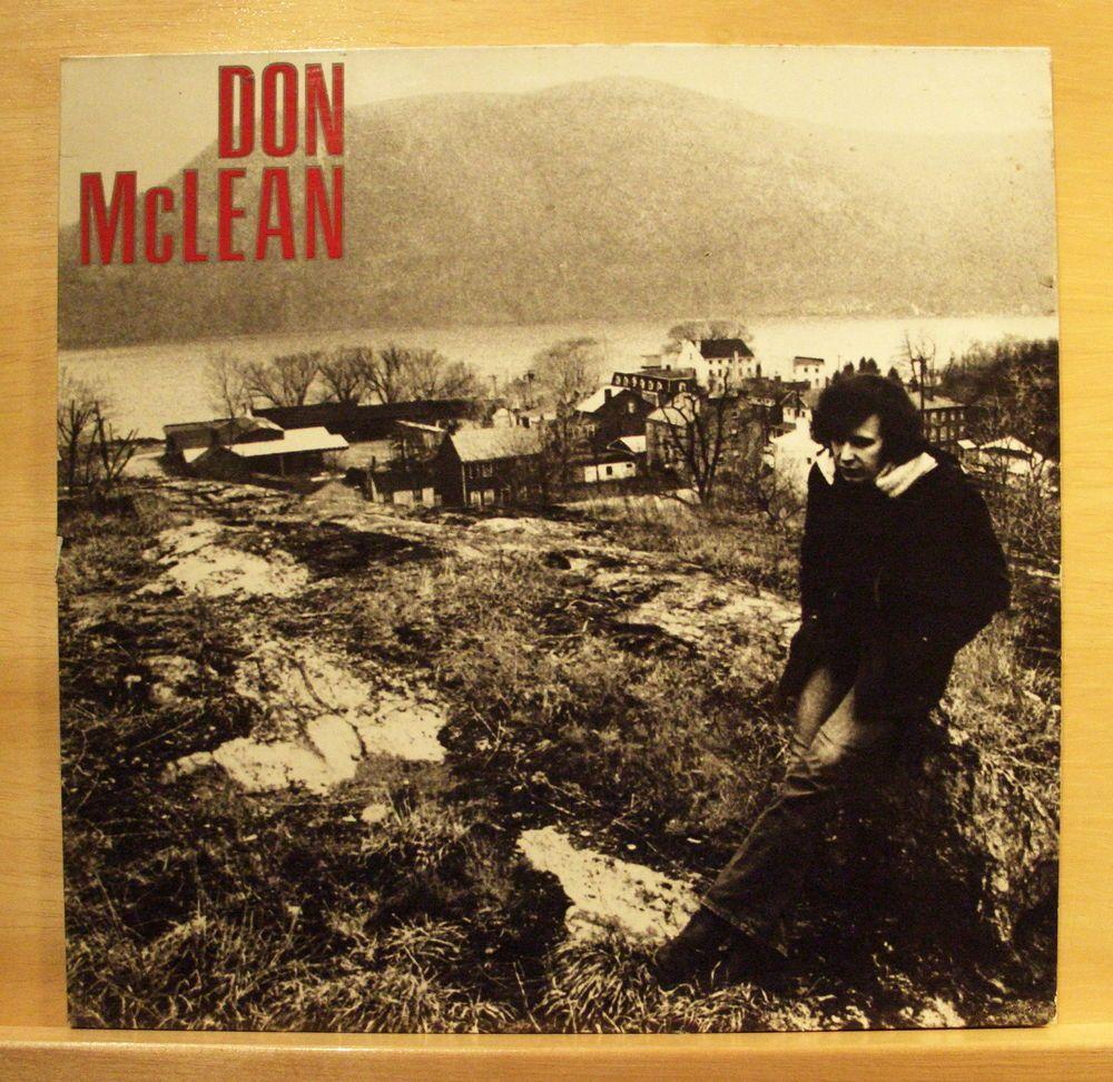 DON MC LEAN - Same - mint minus minus - Vinyl LP - OIS - most m- Top RARE
