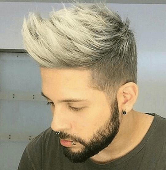 Frisuren Männer 2018 Blond Frisuren Männer Undercut Pinterest