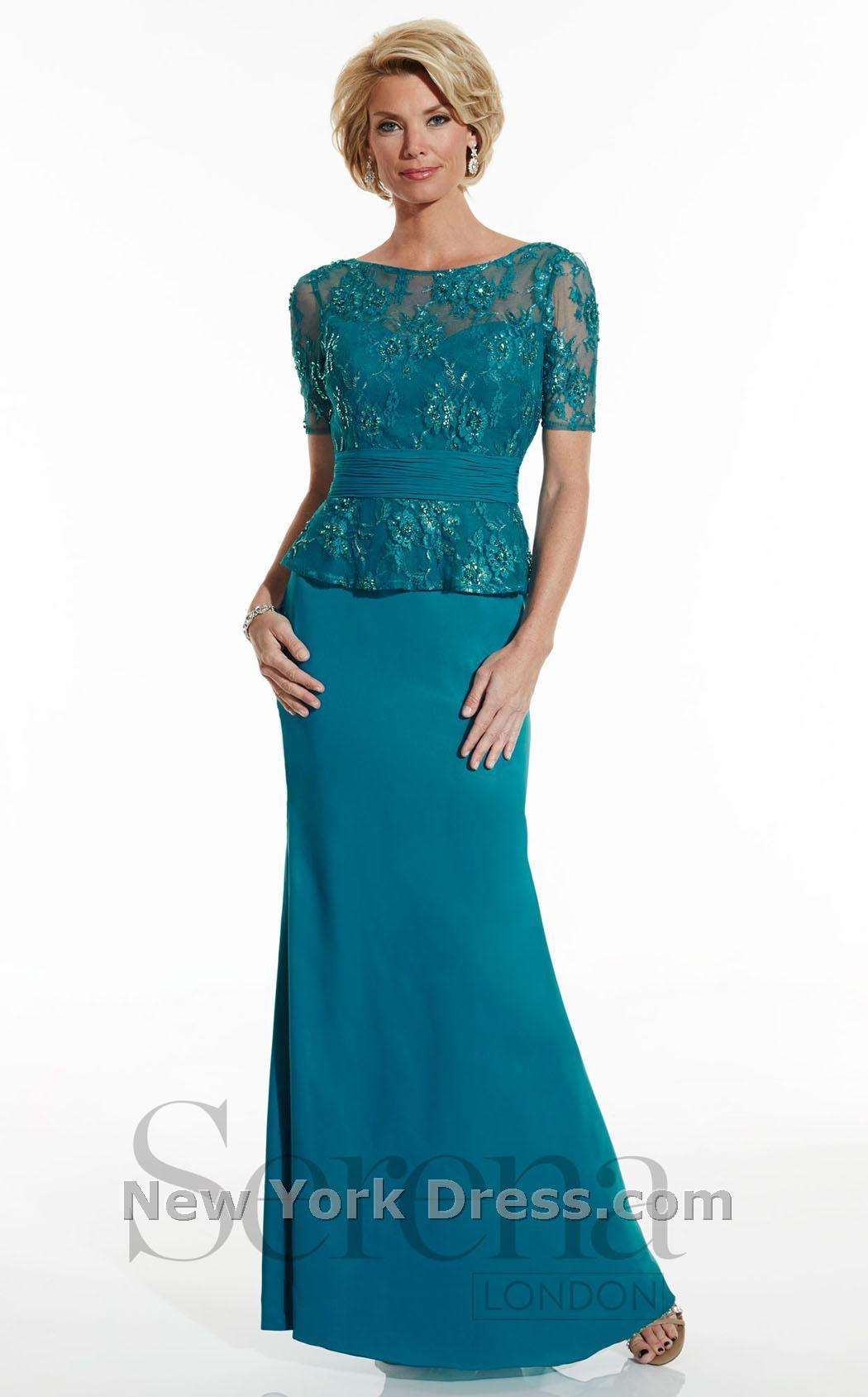 Serena London 17758 thumbnail | Gorgeous Gowns | Pinterest | Black ...