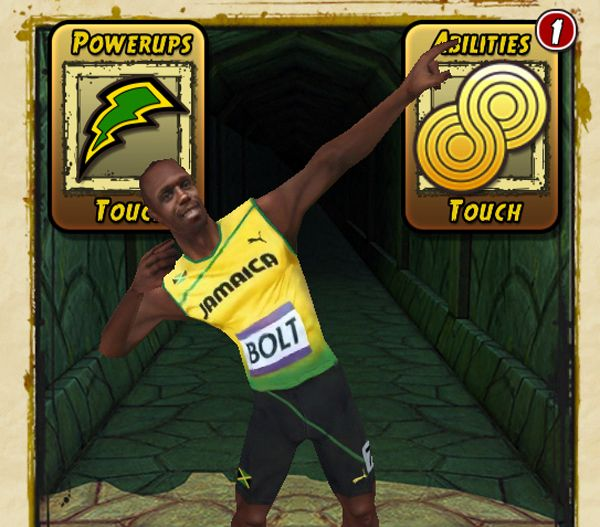 how to buy usain bolt in temple run 2