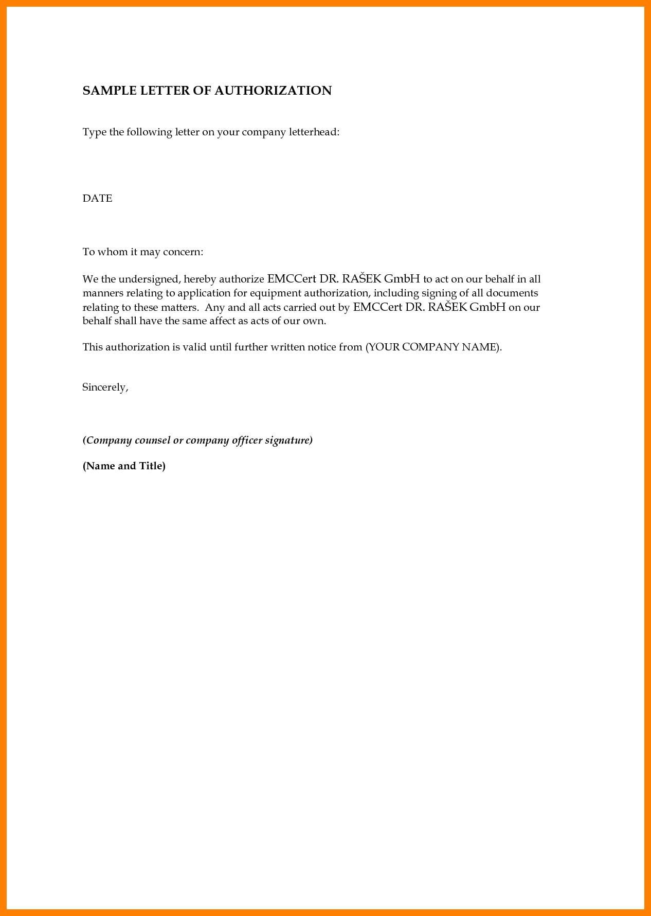 sample authorization letter claim money handy man resume ...