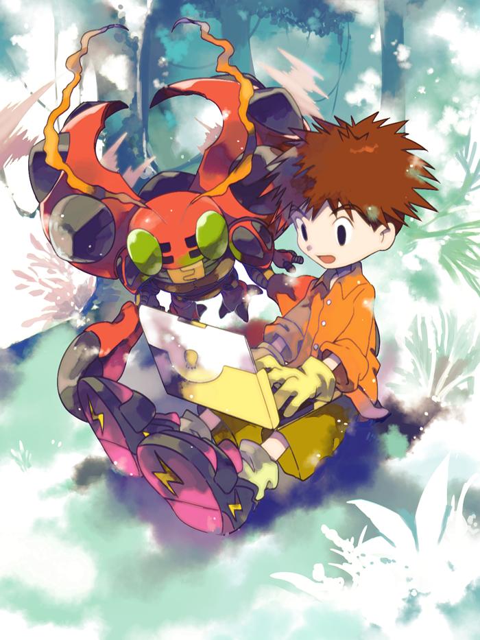 Izzy Tentomon The Rainbow Bridge Digimon Adventure Digimon Anime