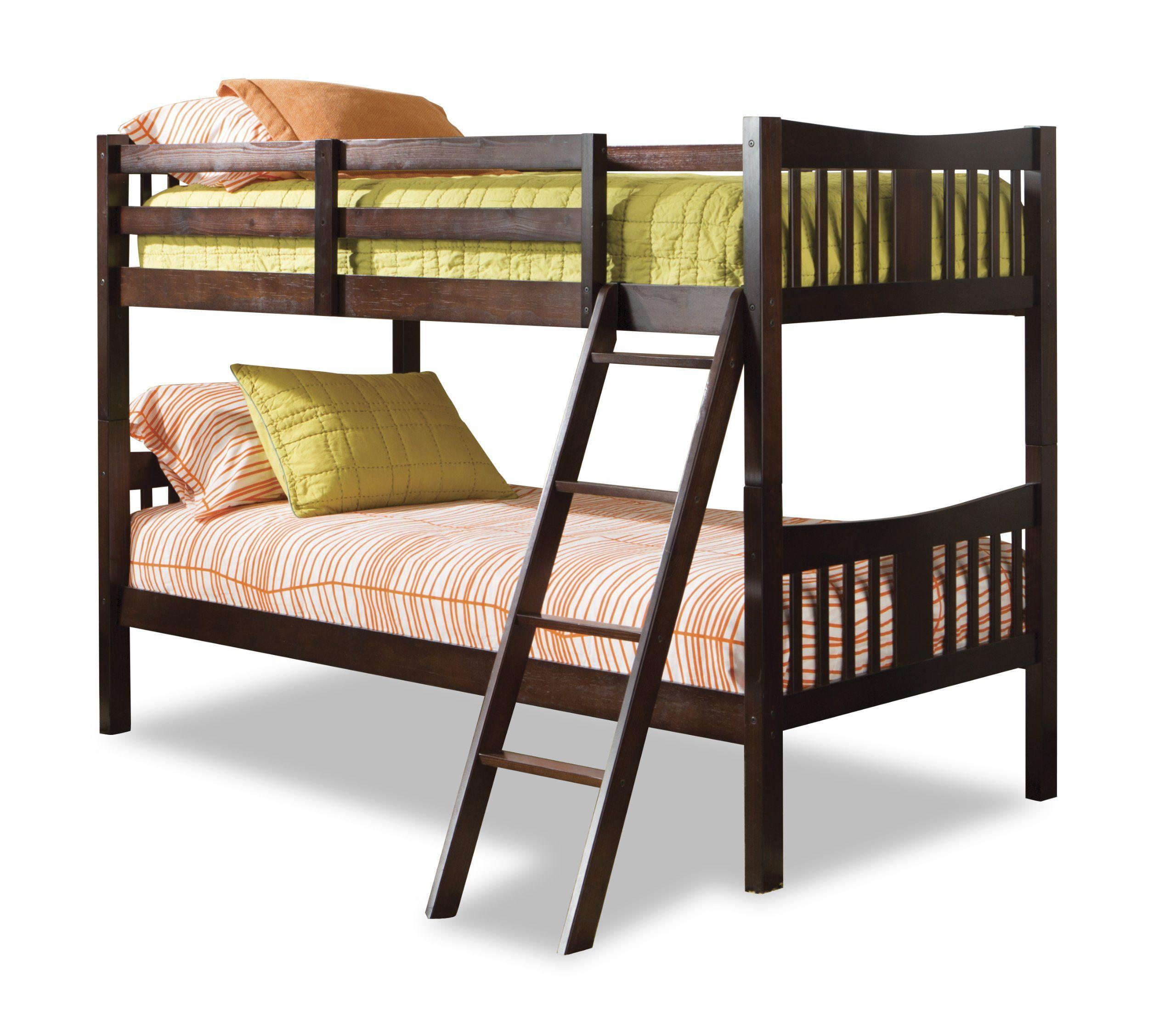Best Amazon Com Stork Craft Caribou Bunk Bed Espresso 400 x 300