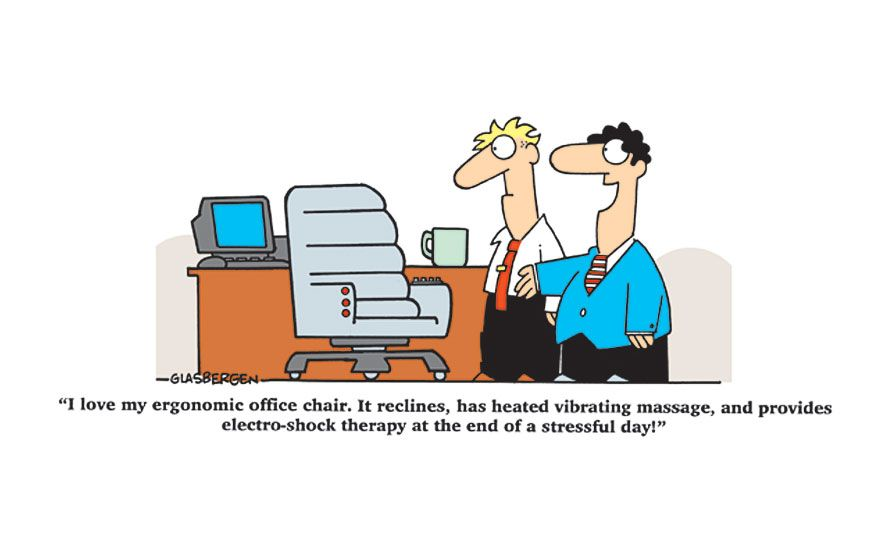 Cubicle Jokes Office Chairs Ergonomic Office Chair Office Seating Furniture By Cartoon Jokes Office Humor Best Office Chair