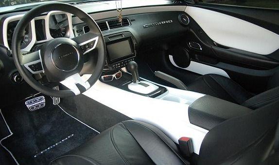2010 2015 Camaro Center Console Side Panels Painted Camaro Interior 2014 Camaro Camaro