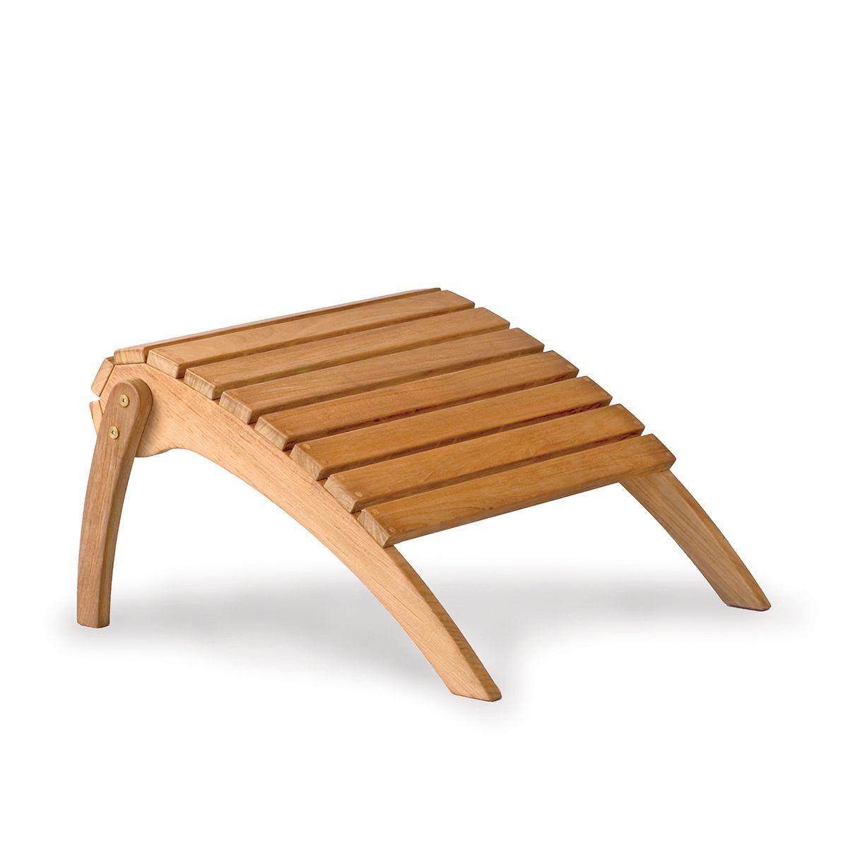Teak Adirondack Footstool Bainbridge Collection By Thos Baker Teak Outdoor Cheap Outdoor Chairs Teak Adirondack Chairs