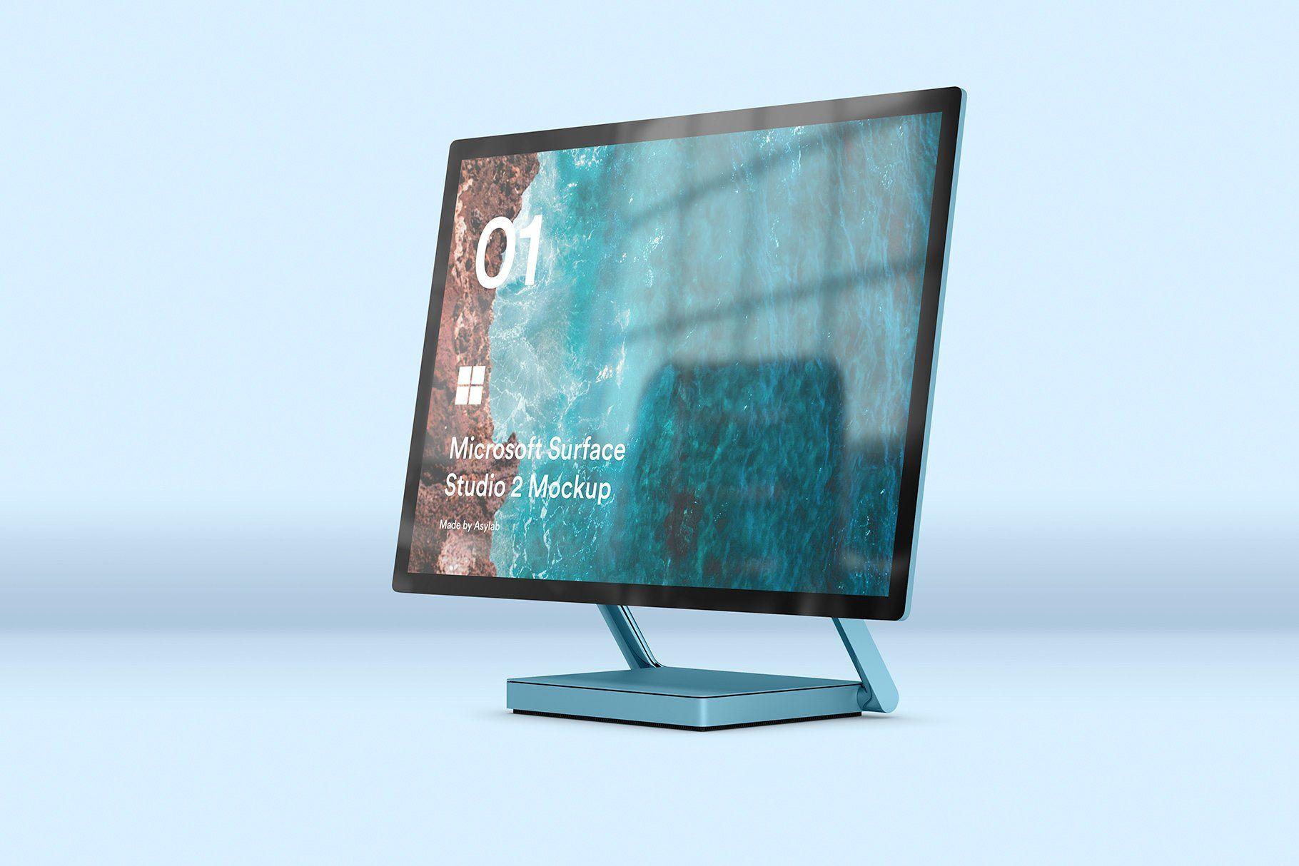 Desktop Surface Studio 2 Mockups Surface Studio Mouse Color Microsoft Surface