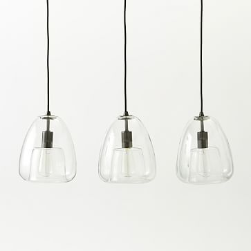 Duo Walled Pendant 3 Light Westelm 239 On From 299