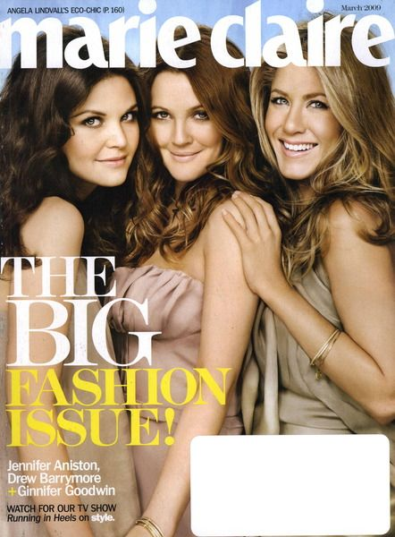 Marie Claire Cover March 2009 Shot #1
