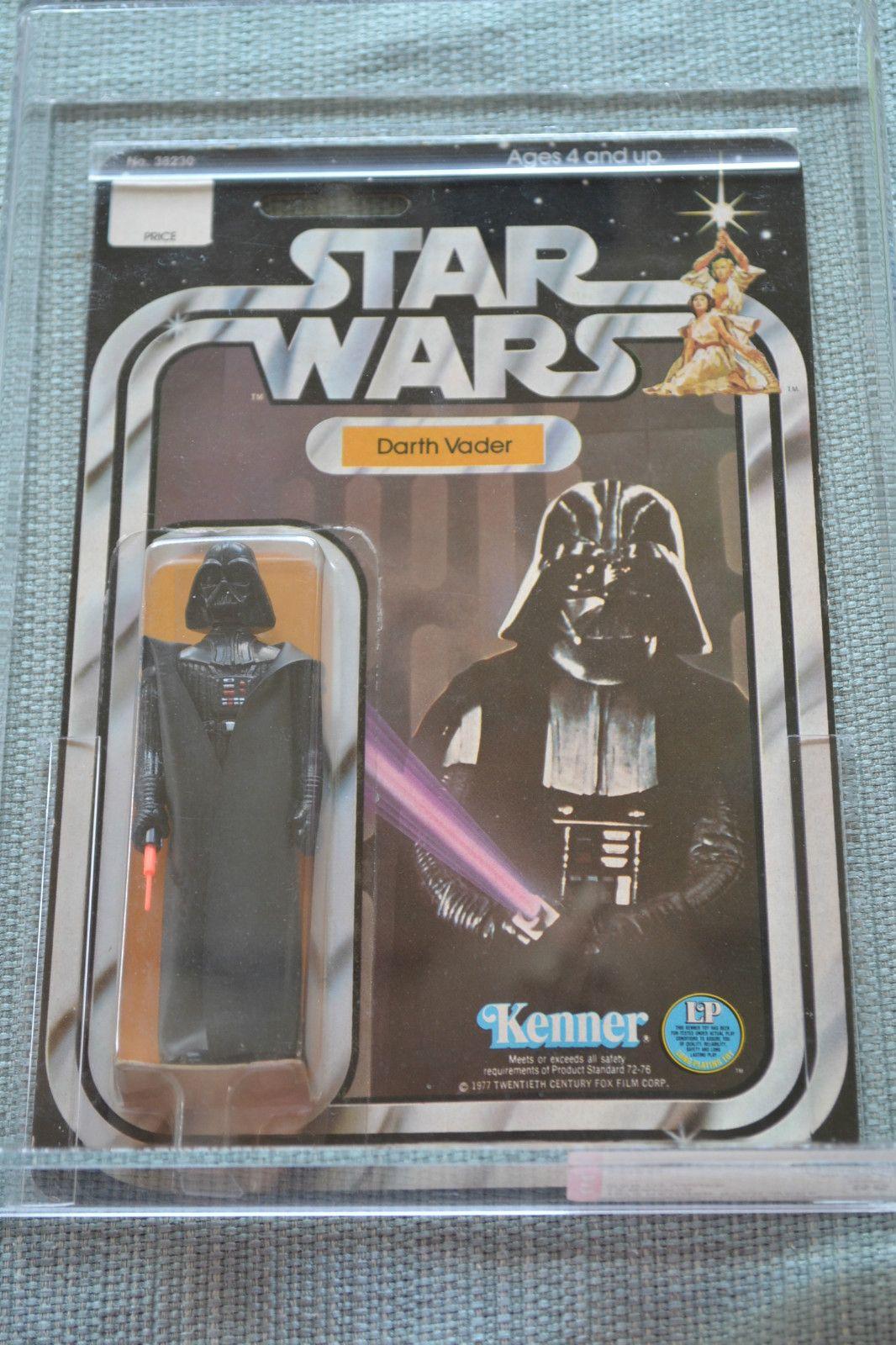 Vintage Star Wars Darth Vader 12 Back-A AFA 85