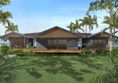 The Retreat Kit Home Steel Frame Homes Available In Tassie