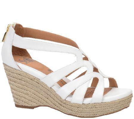Sofft Espadrille Wedge Sandals - Mariana