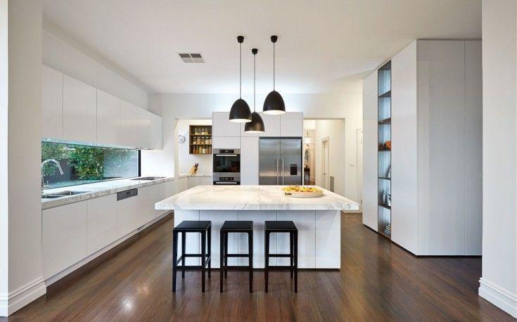 Modern living in Australia: East Malvern Residence   Cocina moderna ...