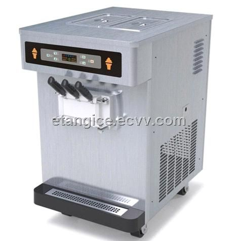 Stainless Steel Table Top Ice Cream Machine Et135s From China
