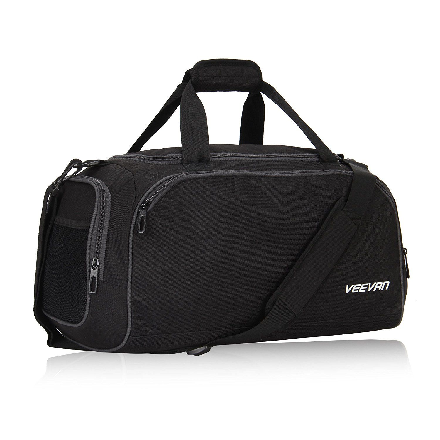 b3ae59db00ec Veevanpro 18 inch Small Gym Bag Travel Sports Duffel Bag Carry on     Details can be found by clicking on the image. (This is an Amazon Affiliate  link and I ...