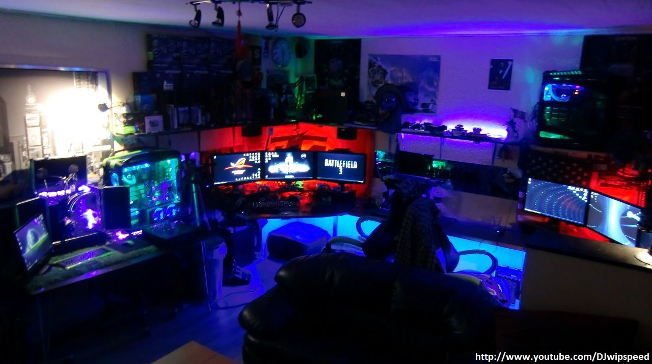 great gaming man cave - Mancave