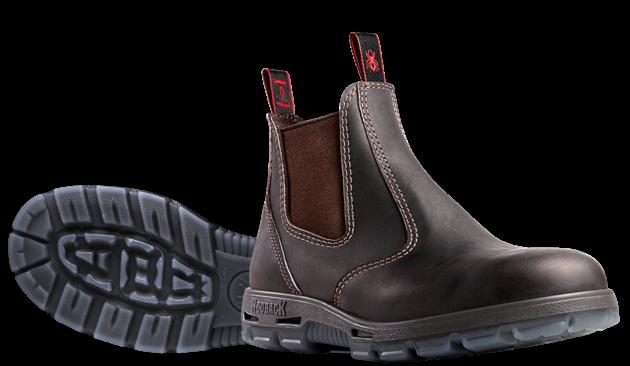 Redback USBOK Bobcat Claret Oil Kip Redback boots
