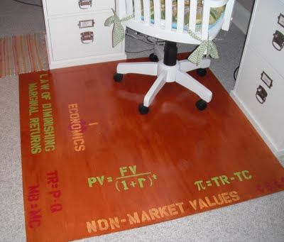 Save Money Make Your Own Office Chair Mat Chair Mats Office Chair Mat Desk Chair Mat
