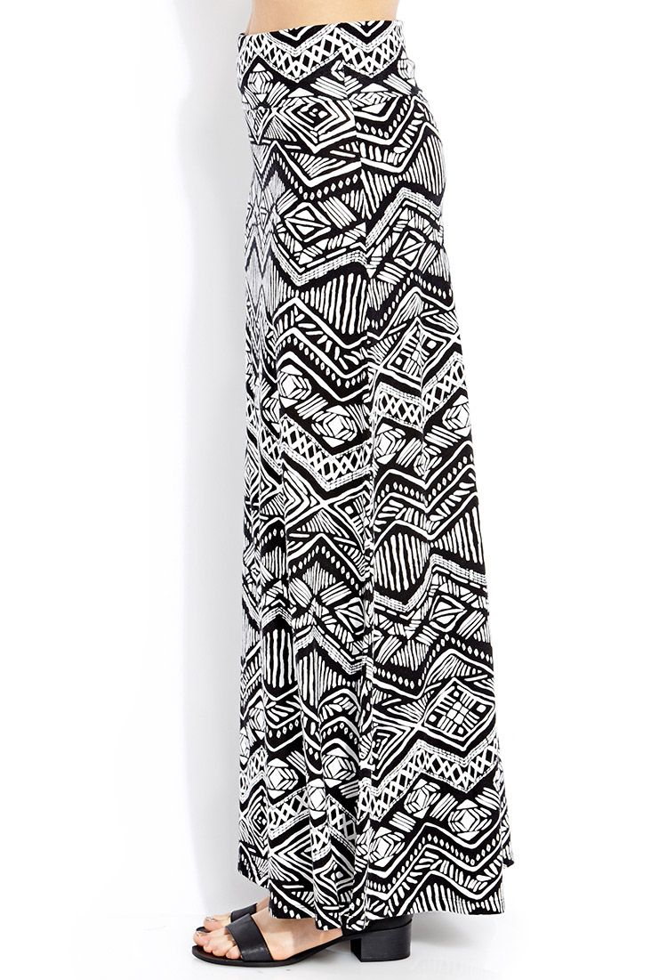 Maxi skirt pattern add to wardrobe capsule pinterest