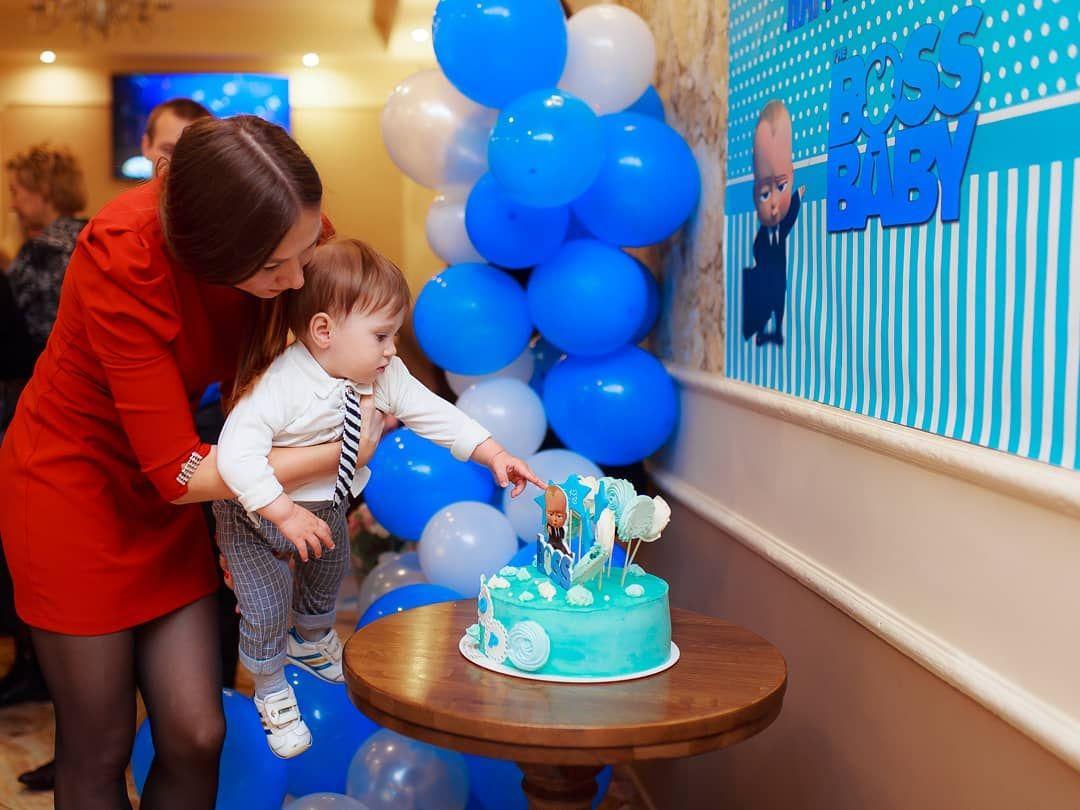 Первый день рождения моего мальчика 👼❤ .