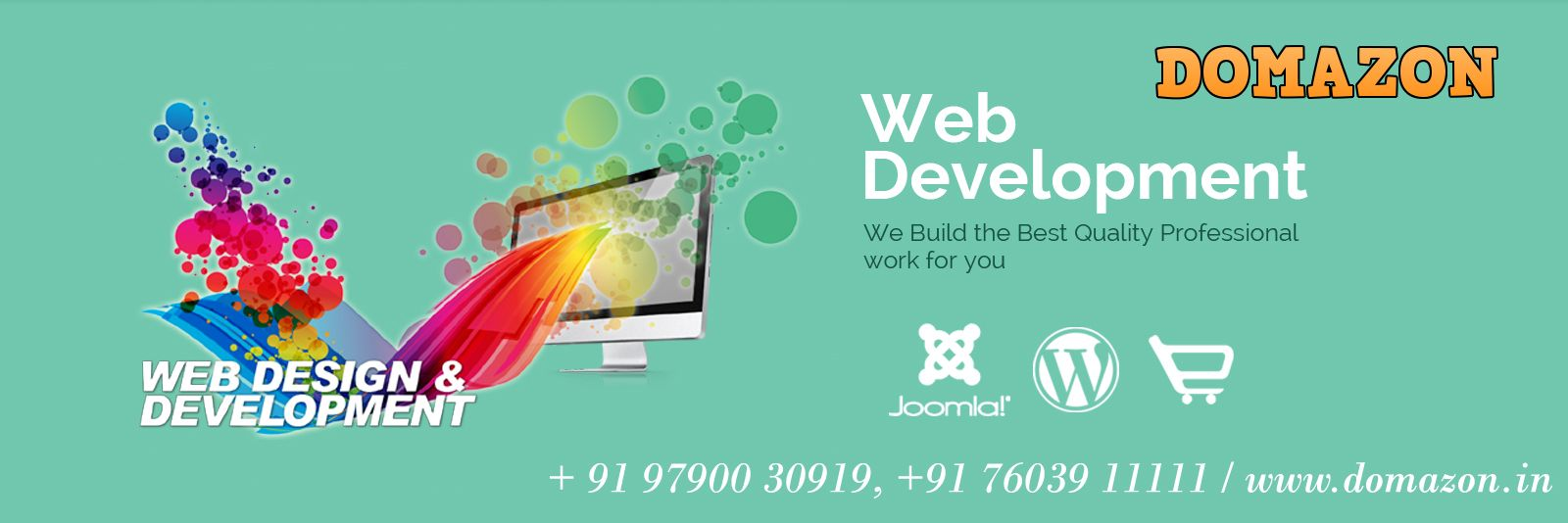 Domazon Get Your Stunning Website Today Web Design Web Design Company Professional Logo Design