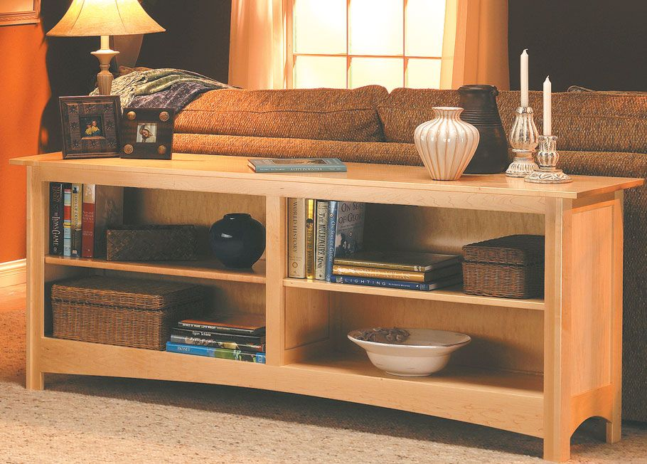 Phenomenal Sofa Table Bookcase Woodsmith Plans A Sofa Table With Download Free Architecture Designs Ferenbritishbridgeorg