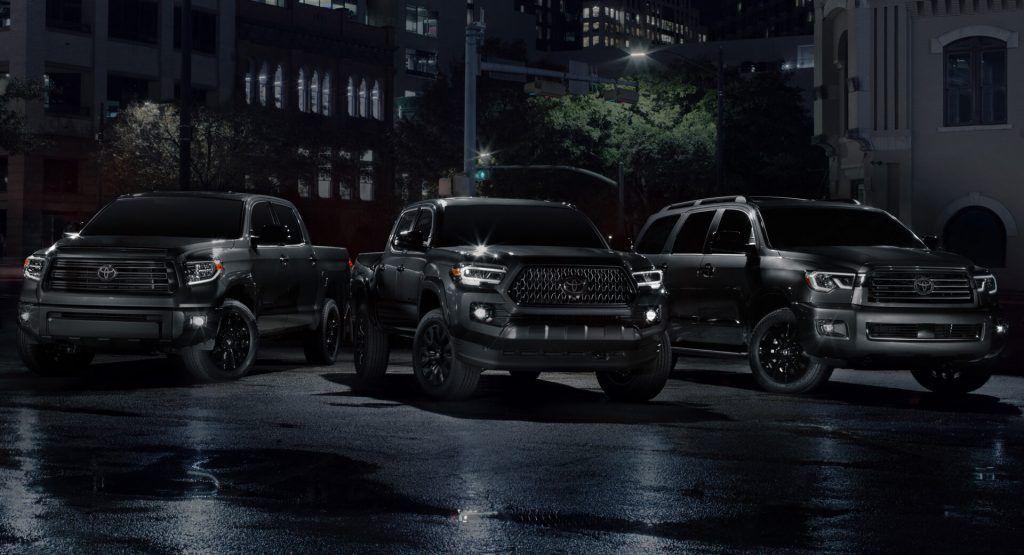 Darkened Nightshade Editions Added To 2021 Toyota Toyota