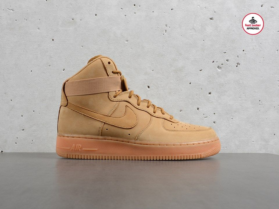 online retailer 68247 15708 The Wheat Nike Air Force 1 High