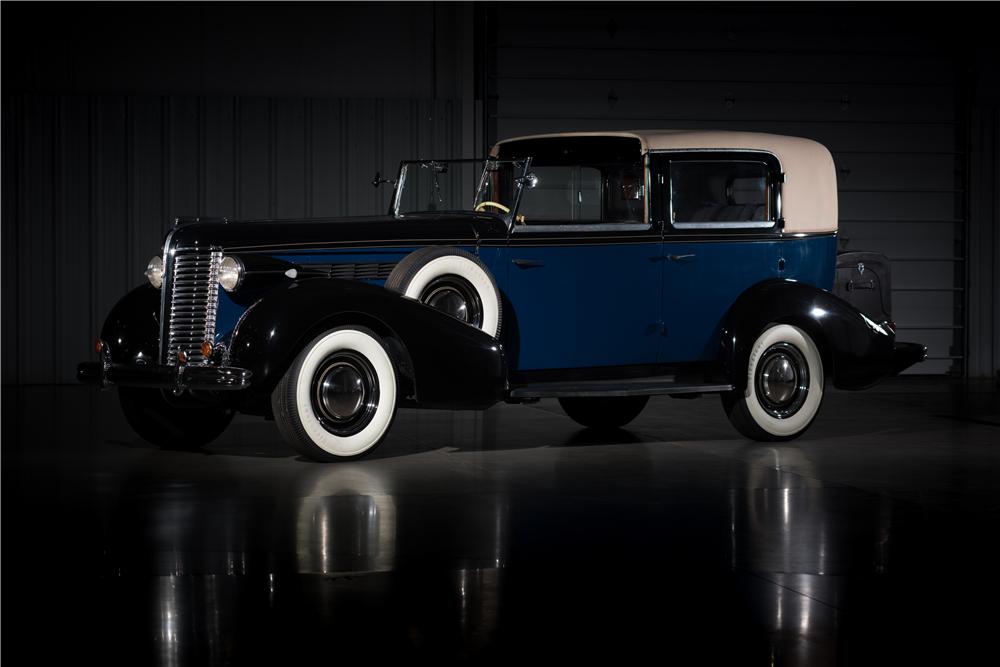 Sold* at Las Vegas 2016 - Lot #675 1938 BUICK BREWSTER TOWN CAR ...